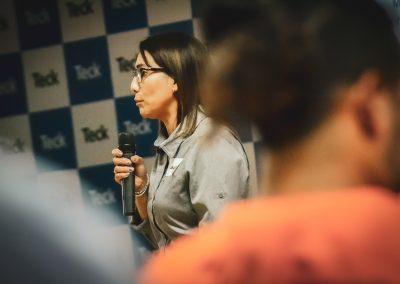 Marjorie Maluenda, Coordinadora de Proveedores Locales en Minera Teck Carmen de Andacollo.