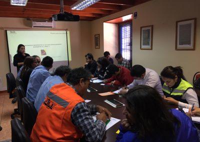 Presentación del Programa de Red Proveedores para Empresarios de Andacollo.