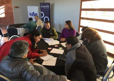 Taller de Innovación del Programa de Desarrollo de Proveedores en CAP Minería, Valle del Huasco.