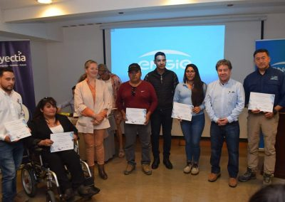 Certificación del Programa de Desarrollo de Proveedores en Engie Energía, Mejillones.